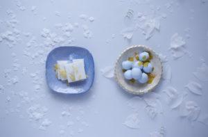 watanabe hiroko info hihiroko.exblog.jpブログトップ wea - handmade tableware - 「雪は踊っている、 落ち葉は舞っている」
